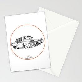 Crazy Car Art 0220 Stationery Cards