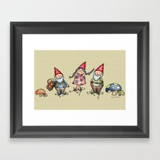 Gnomes Framed Art Print