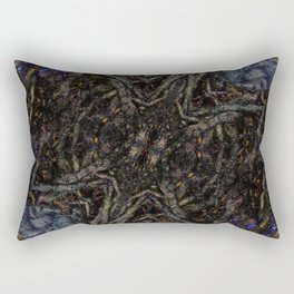 Tree Root Fractal Rectangular Pillow