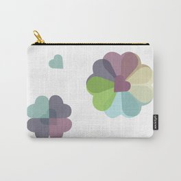 Heartflowers1 Carry-All Pouch