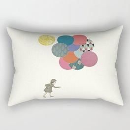 Party Girl Rectangular Pillow