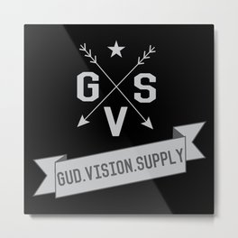 Gud Vision Supply Metal Print