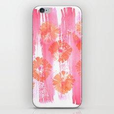 California Poppy Pop iPhone Skin