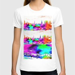 The International Skyline Watercolor T-shirt