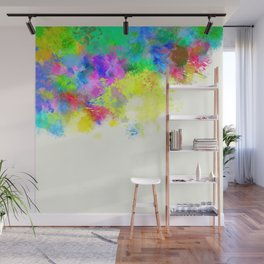 Paint Splashes Wall Mural