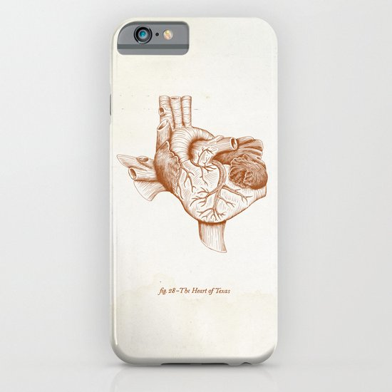 The Heart of Texas (UT) iPhone & iPod Case
