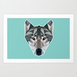 Wolfangels Art Print
