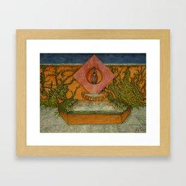 Apprentice Stone Mason's 1st Project Framed Art Print