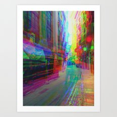 Multiplicitous extrapolatable characterization. 32 Art Print
