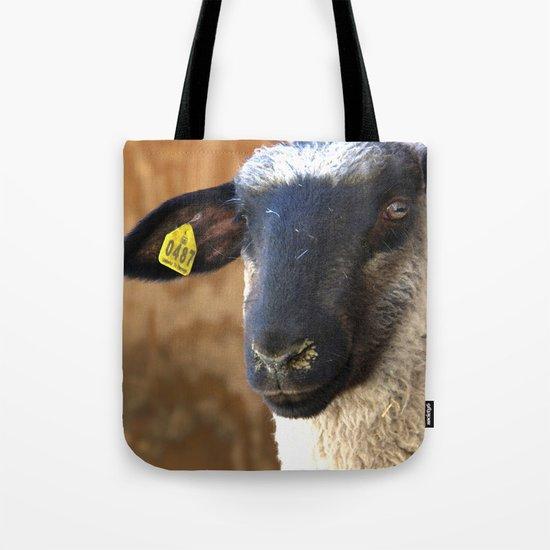 Lamb #0487 Tote Bag