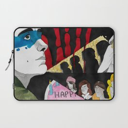 It's  A Quarter Past Midnight Laptop Sleeve