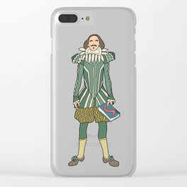 Outfit of Shakespeare Clear iPhone Case