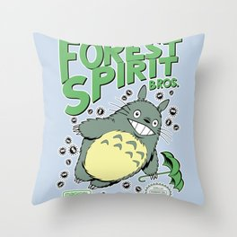 Forest Spirit Bros. Throw Pillow