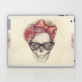 Hipster Girl is Dead Laptop & iPad Skin