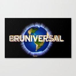 Bruniversal Canvas Print