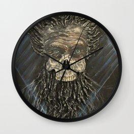 The Mad Emperor Wall Clock