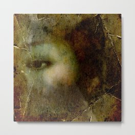 Asian eye Metal Print