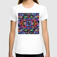 quilt T-shirts featuring Space Quilt by deff