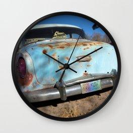 Classic Dreams in Blue Wall Clock