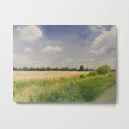 summer fields Metal Print