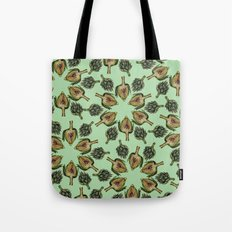 Swirling Artichokes Tote Bag