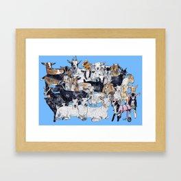 GREATS Framed Art Print