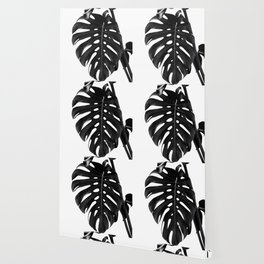 Monstera Delight #2 #tropical #decor #art #society6 Wallpaper