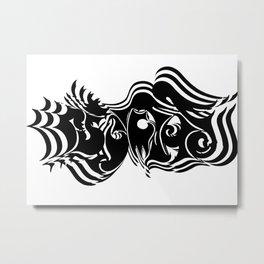 Psycho vibrate Metal Print