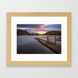 Glenade Lough in County Leitrim - Ireland (RR 260) Framed Art Print