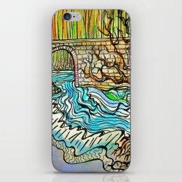 WATER UNDER THE BRIDGE iPhone Skin