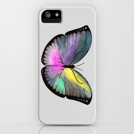 Space Butterfly iPhone Case