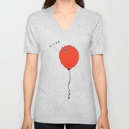 Awkward Balloon Unisex V-Neck