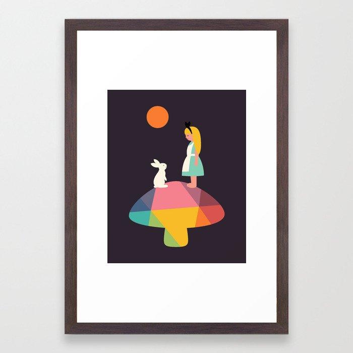 A Wonderful Trip Has Begun Framed Art Print