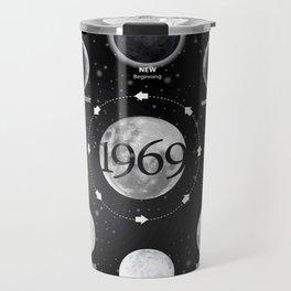 Moon Phases 50th Anniversary Apollo 11 1969 Moon Landing Tees Travel Mug