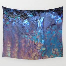 Waterfall. Rustic & crumby paint. Wall Tapestry