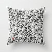 waldo Throw Pillows featuring Where's Waldo? by Ax38