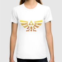 triforce T-shirts featuring Triforce by Wicttor