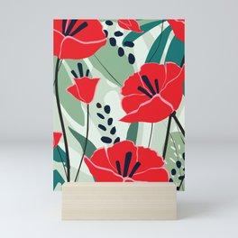 poppy seed Mini Art Print