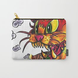 Devil Cat Carry-All Pouch