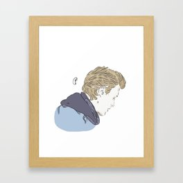 Even Bech (1st ep) Framed Art Print