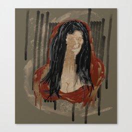 Red Mona Canvas Print