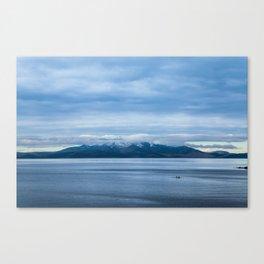 Blue Arran Canvas Print