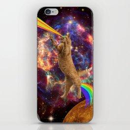 CAT SPACE  iPhone Skin