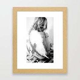 Ducktape Angel Framed Art Print