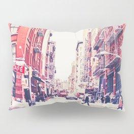New York City Snow Soho Pillow Sham