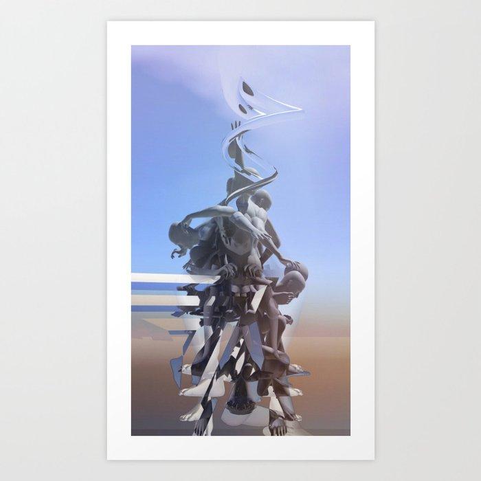 Cumulative Ascension Art Print