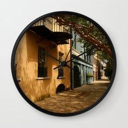 Charming Charleston Street Wall Clock
