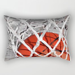 Basketball Art Rectangular Pillow