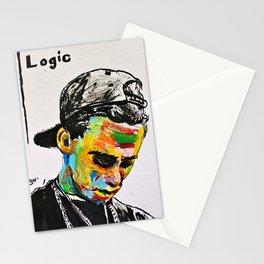 Logic Portrait Stationery Cards