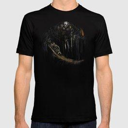 Gravelord Nito - Dark Souls (black tee PNG edition) T-shirt